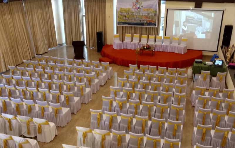 Mahavet Corporate event Setup for 200 People