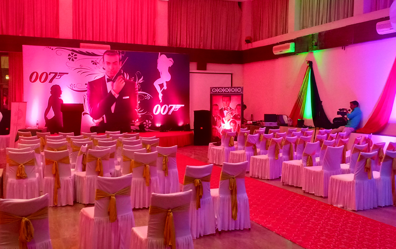 Corporate Events Setup