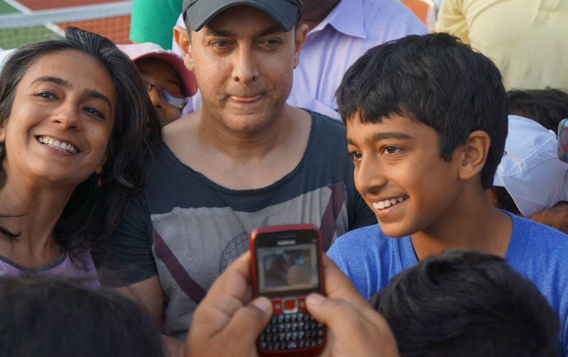Aamir Khan at Ravine Hotel