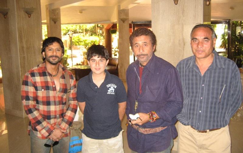 Arshad Warsi & Naseeruddin Shah At Ravine Hotel