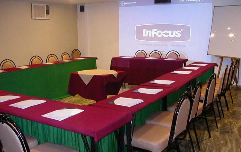 Conference Hall Setup