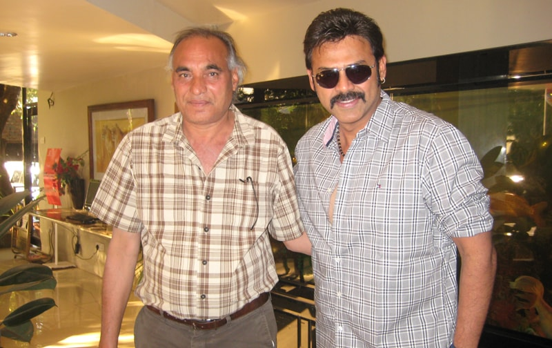Venkatesh with Big Boss at Ravine Hotel