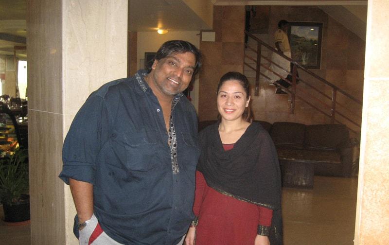 Ganesh Acharya At Ravine Hotel