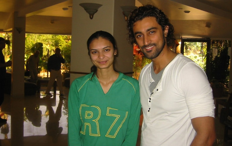Kunal Kapoor with Vaidehi At Ravine Hotel