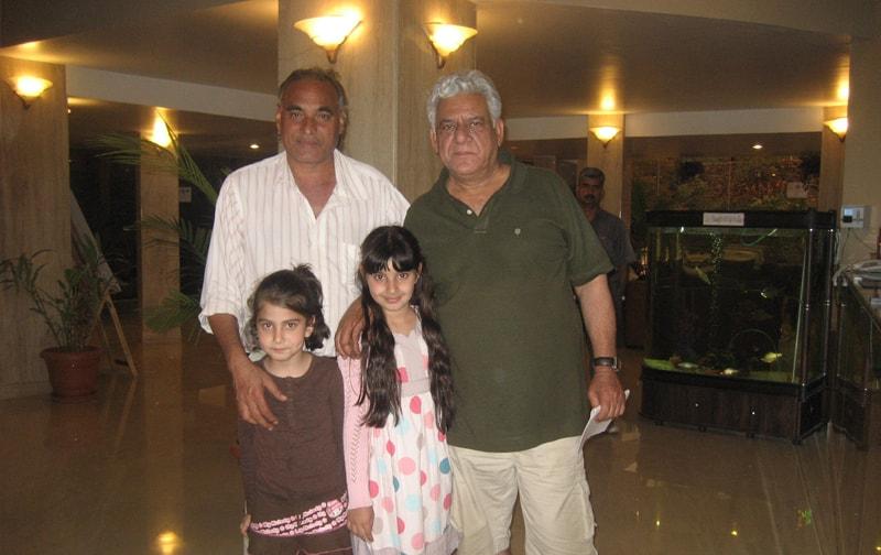 Om Puri at Ravine Hotel