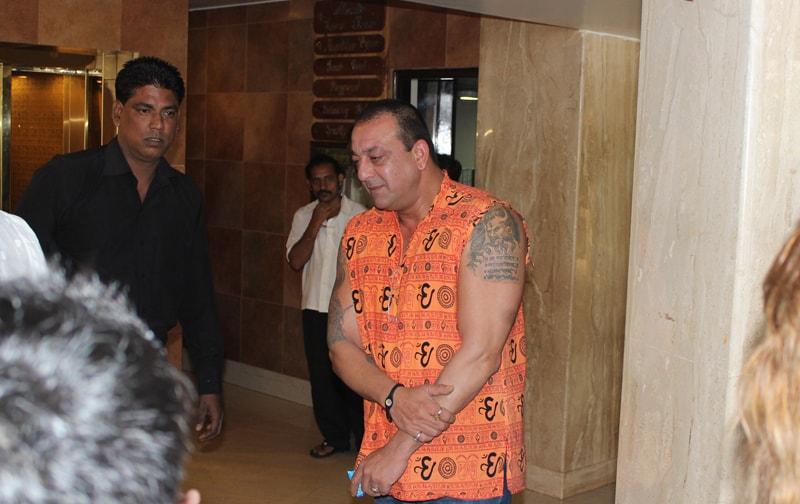 Sanjay Dutt at Ravine Hotel