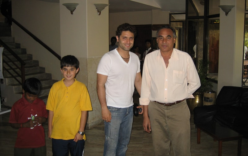The Big Boss, with Shiney Ahuja and Hisham.