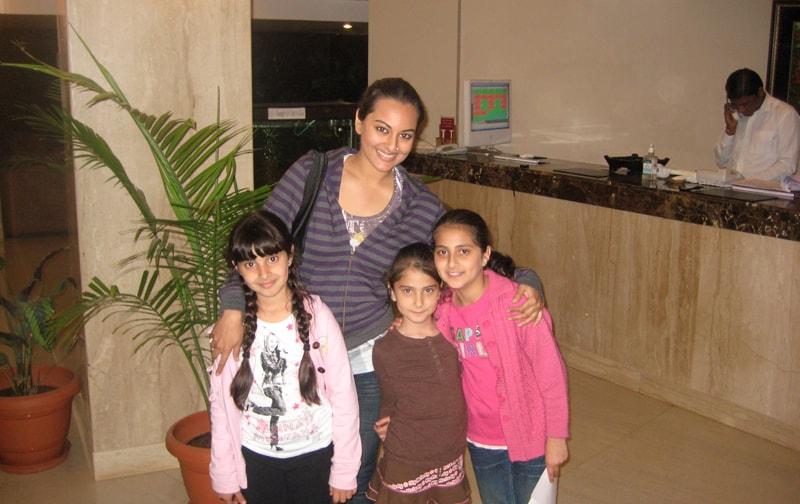 Sonakshi Sinha At Ravine Hotel