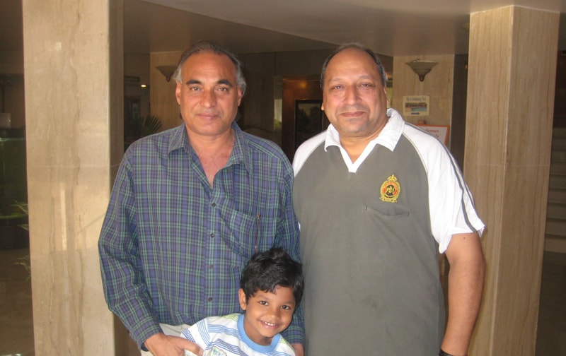 Sudhir Pandey At Ravine Hotel