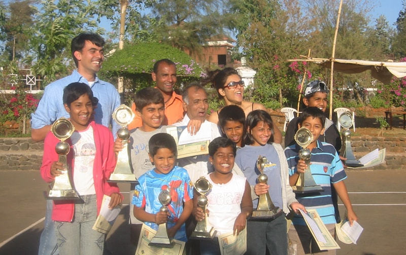 Sushmita Sen at Ravine Hotel, Prize Distribution for Tennis Tournament