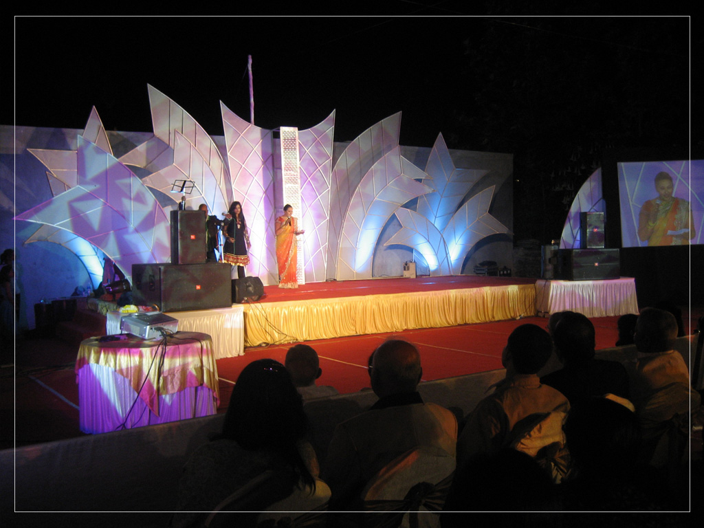 Wedding Stage for Performance 2011