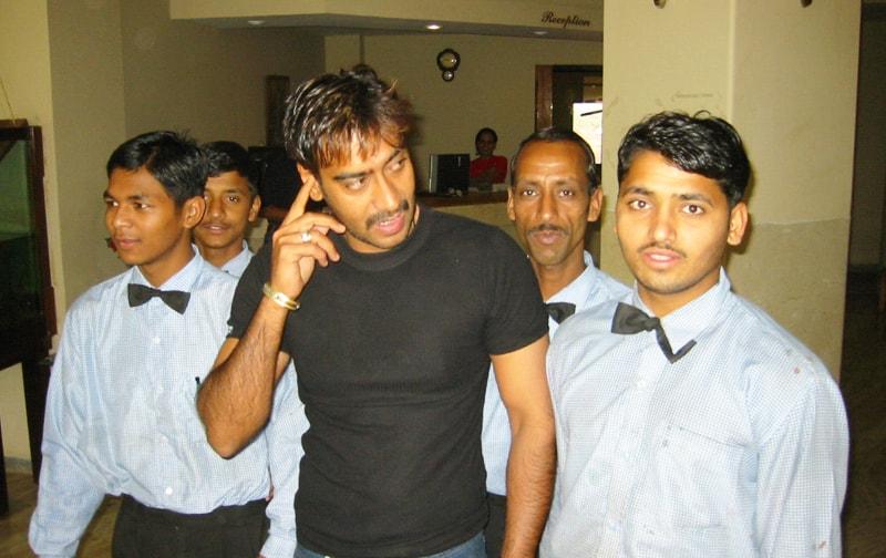 Ajay Devgan At Ravine Hotel