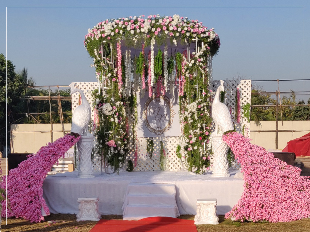 Entrance for Wedding