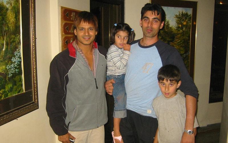 Vivek Oberoi at Ravine Hotel